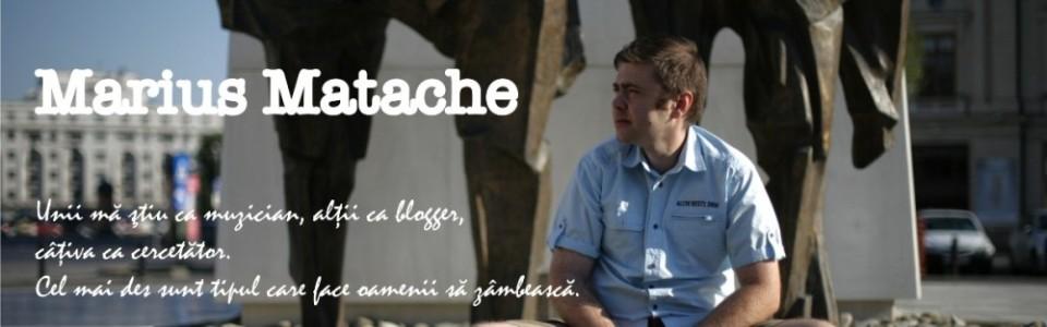 Pagina personala Marius Matache