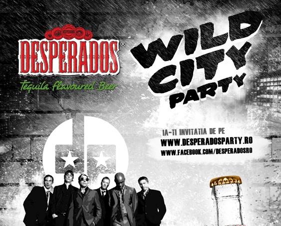 poster Desperados Party Bucuresti