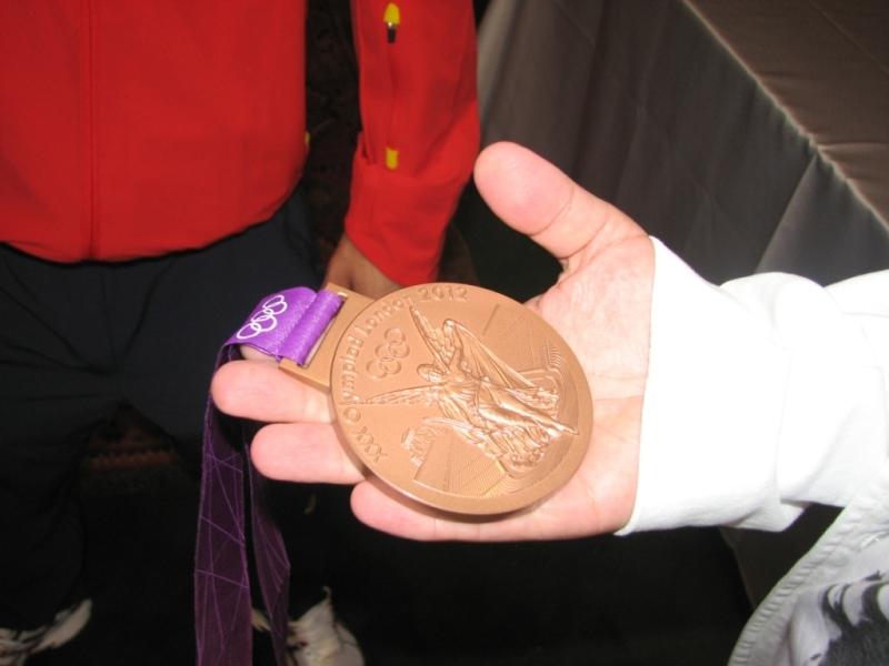 Medalia lui Razvan Martin