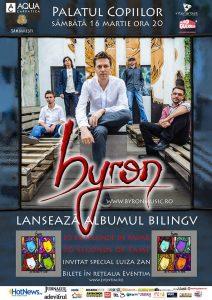 Afis Byron 16 martie