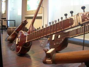 Bruxelles - Sitar - Muzeu instrumente