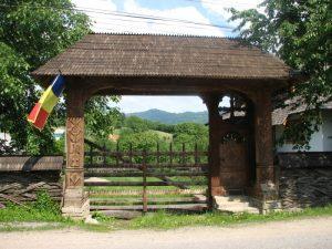Maramuresul - Poarta de lemn