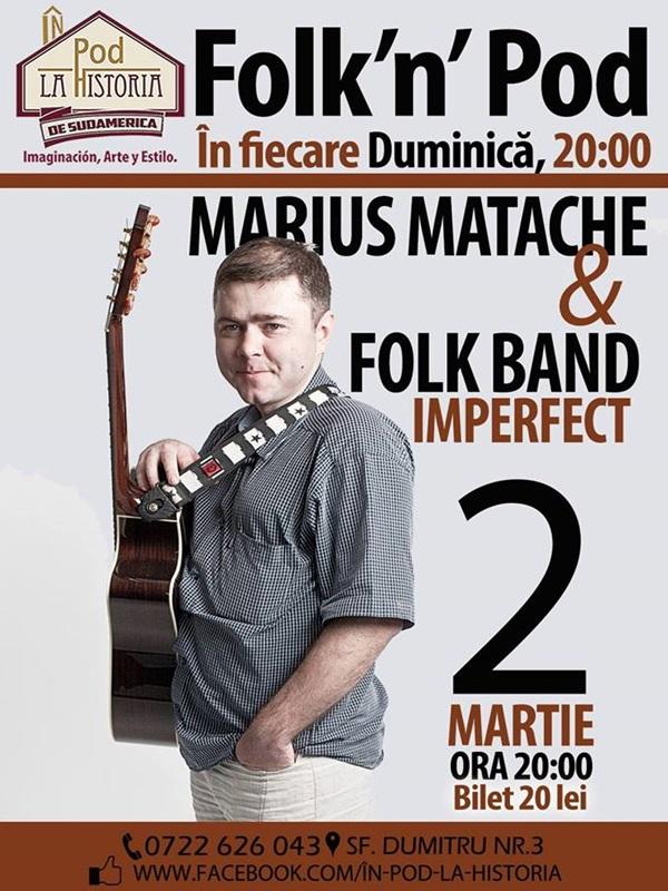 Marius Matache In Pod La Historia