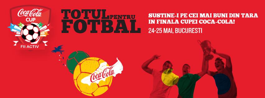Cupa Coca Cola -Pasiune pentru fotbal