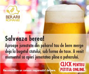 Sustine reducerea accizei la bere!