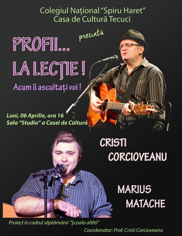Make concert Tecuci
