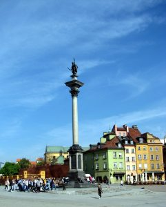 Varsovia Sigismund Statue