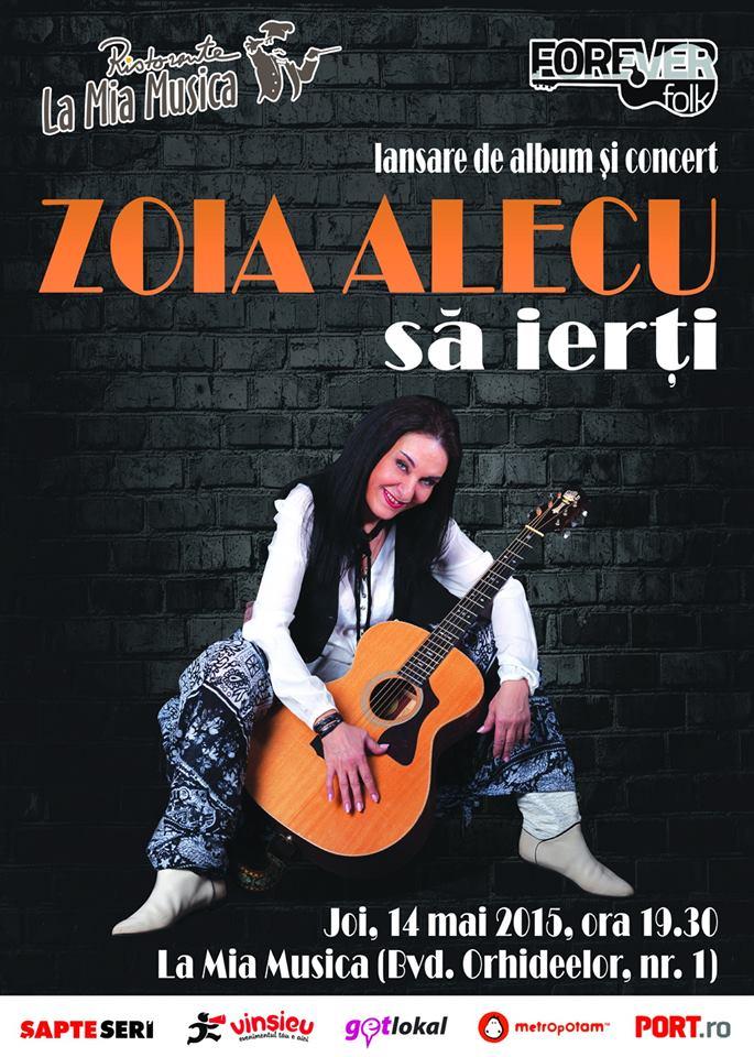 Zoia Alecu Lansare