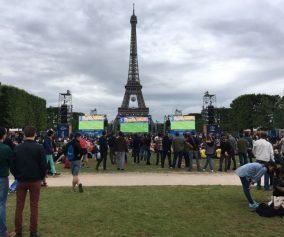Turnul Eiffel fotbal