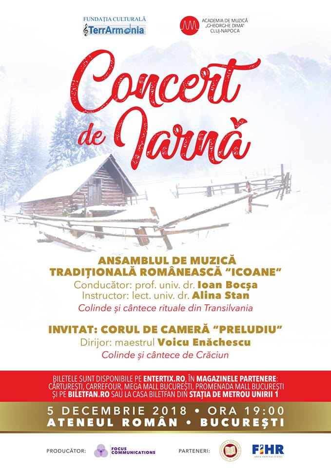 Ioan Bocșa susține un spectacol de colinde transilvane la