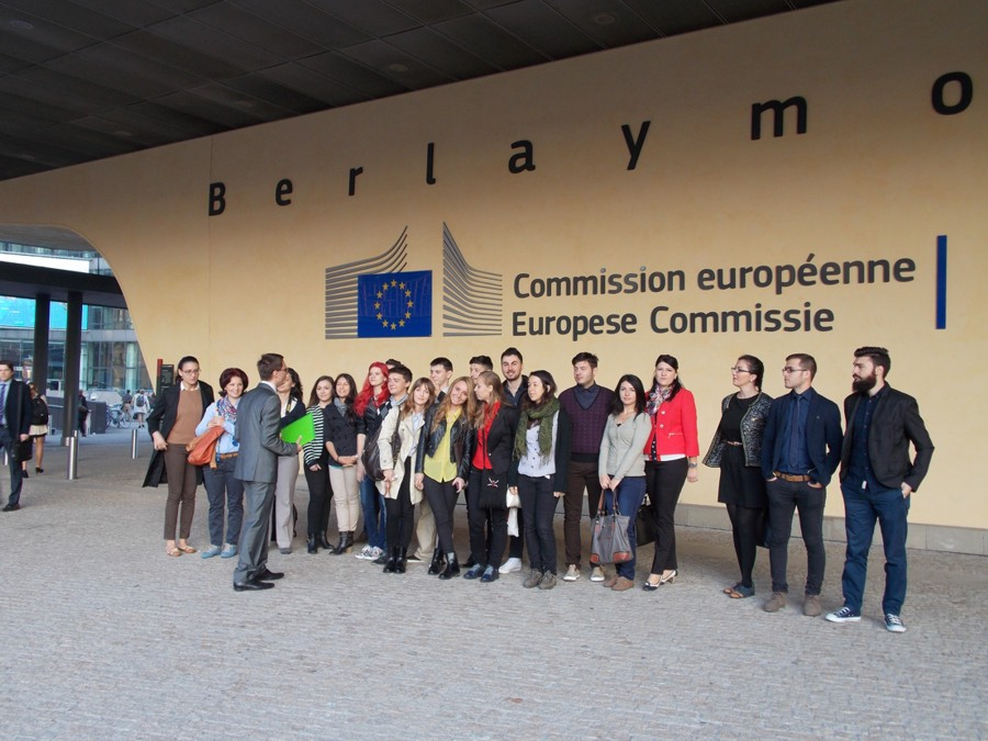 Bruxelles practică studențească