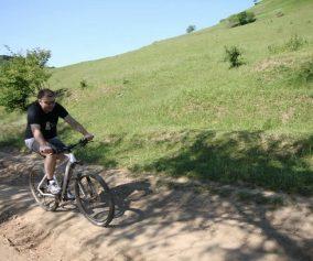 Ațel Dupuș bicicliștii TransylvaNET Parcul Tineretului