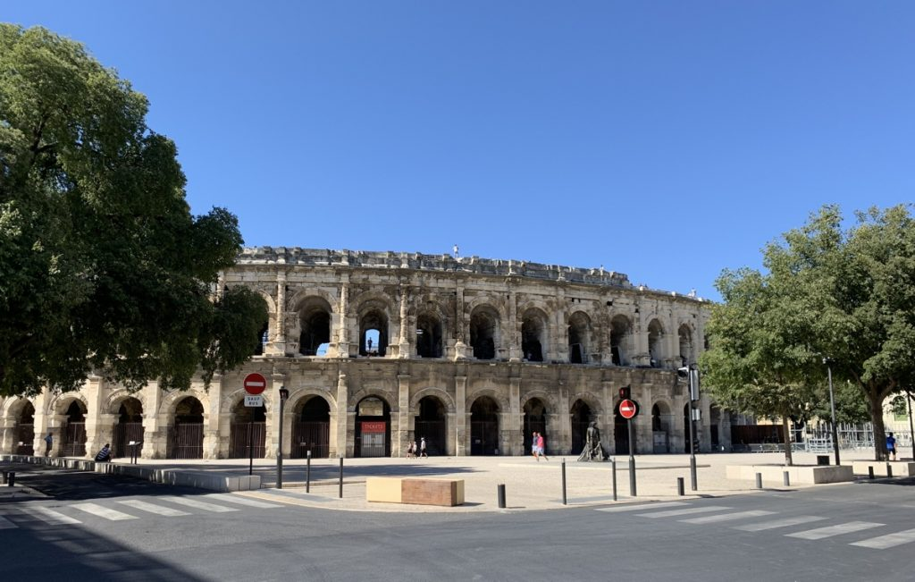 Nîmes Arenele Romane Provence
